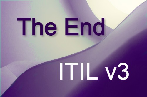 Einde van ITIL v3